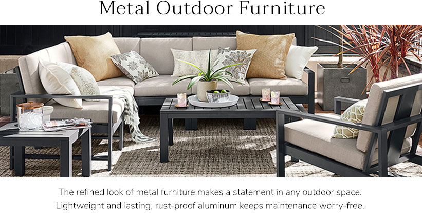 Metal patio furniture  45