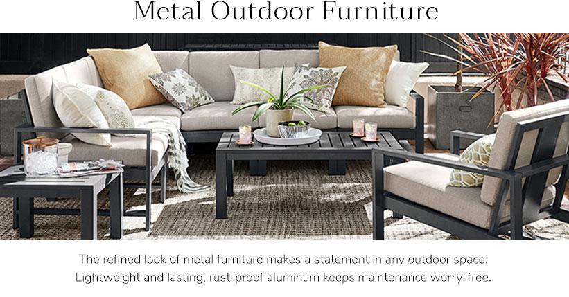Metal patio furniture  45