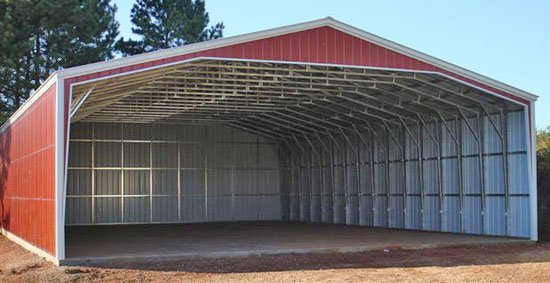 Metal Storage Building  00