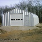 Metallic Metal Storage Building!