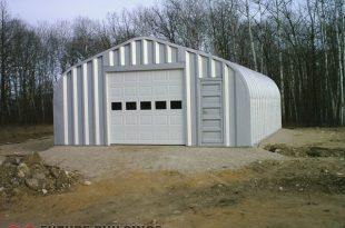 Metal Storage Building  97