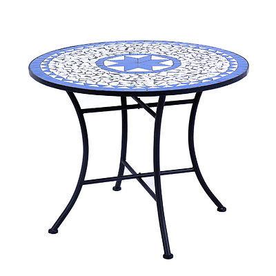 mosaic garden table  01