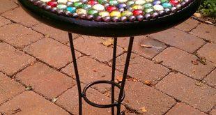 mosaic garden table  28