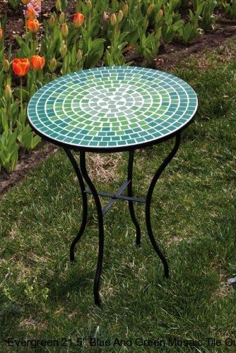 mosaic garden table  50