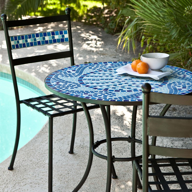 mosaic garden table  68