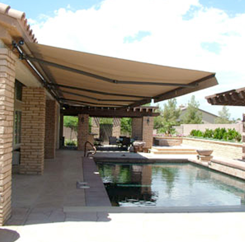 Protect your home by durable and strong outdoor awnings