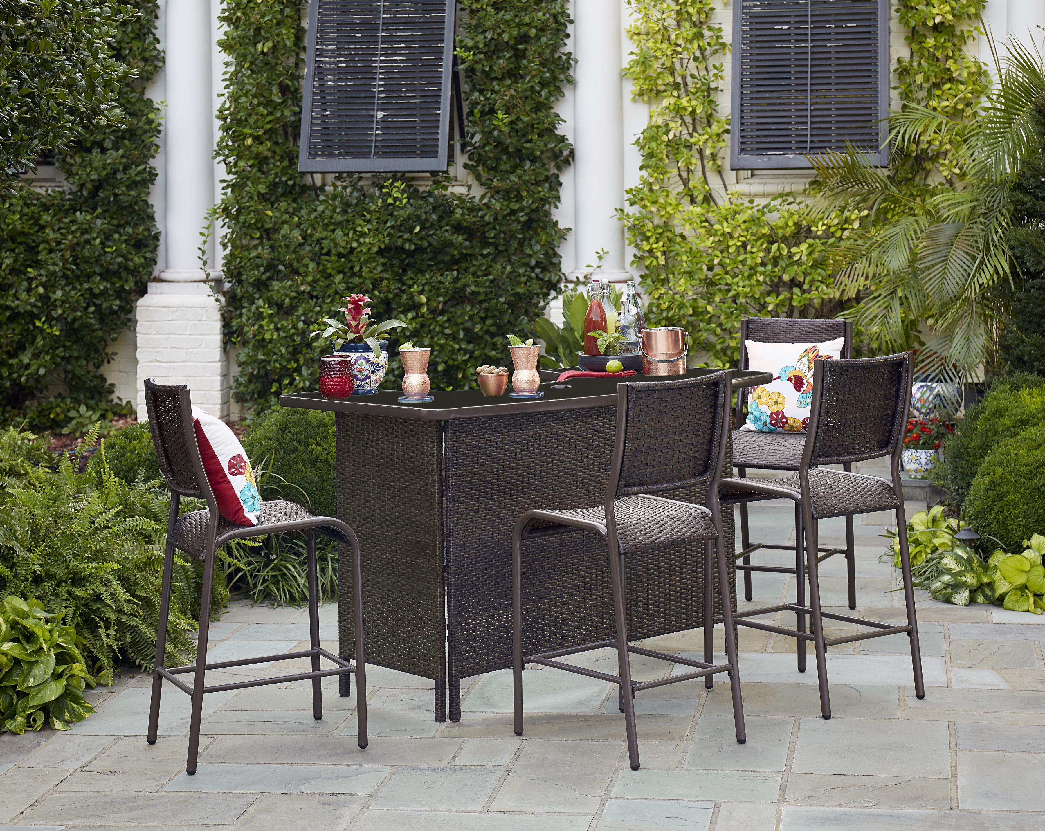 outdoor bar set  65