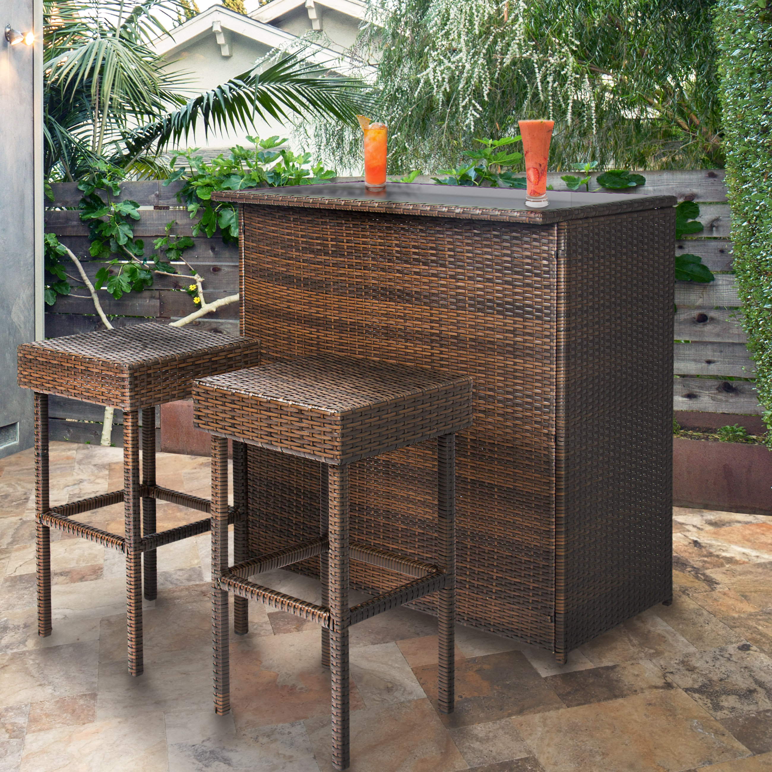 outdoor bar set  76
