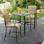 Make your moments memorable by sitting on trendy outdoor bistro set