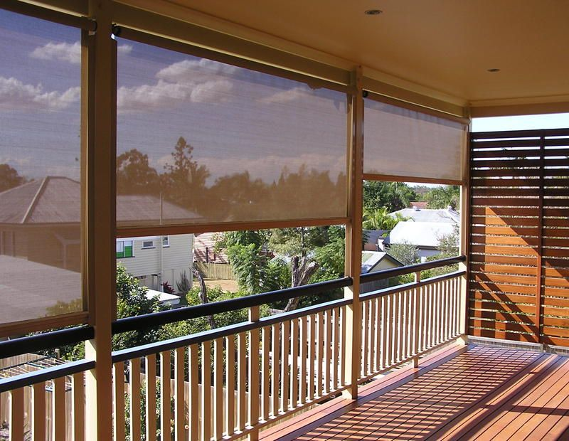 Privacy is a great concern for outdoor blinds