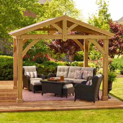 Convenient and stylish outdoor canopies