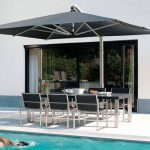 Outdoor deck umbrella 22
