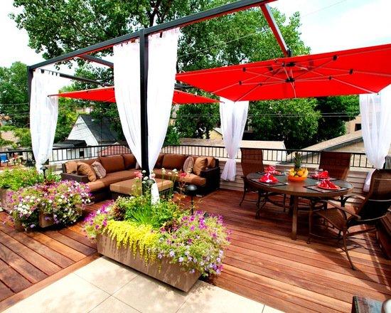 Outdoor deck umbrella  37