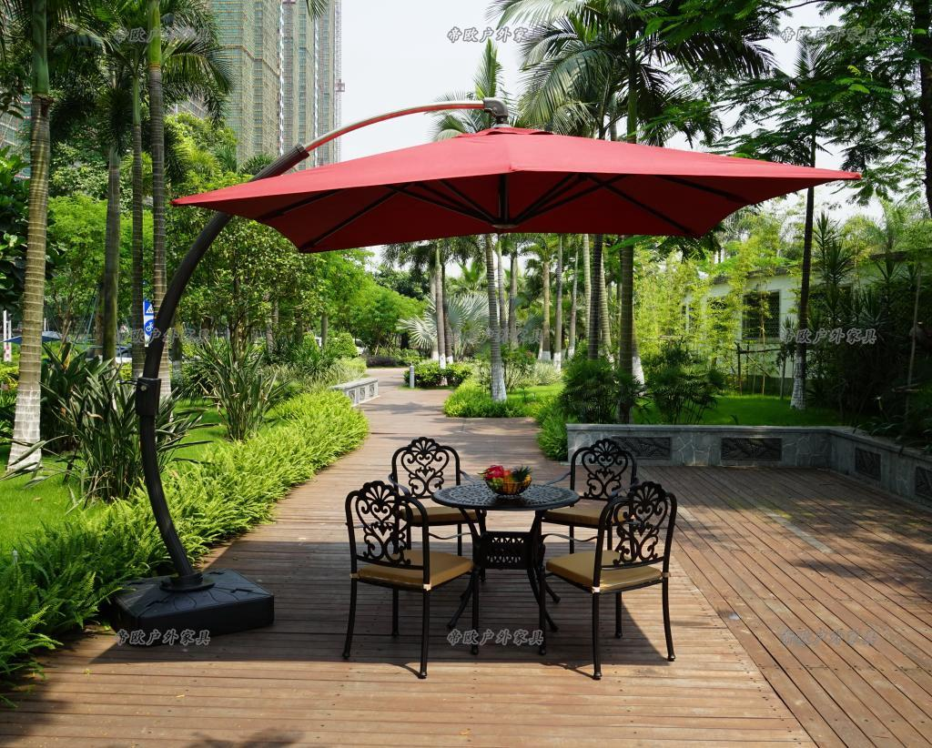Outdoor deck umbrella  74