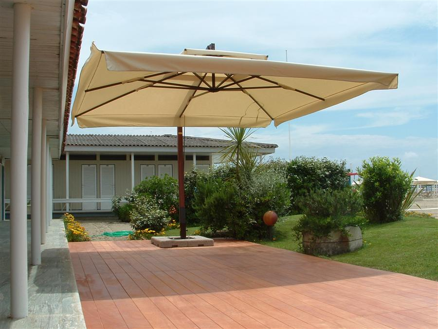Outdoor deck umbrella  81