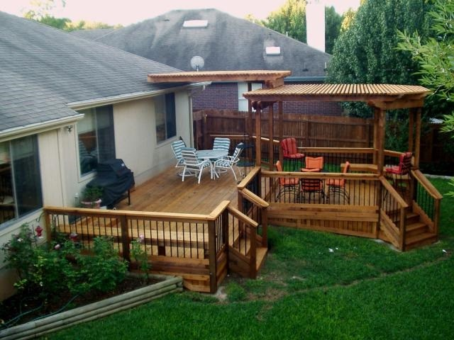 outdoor decks  78