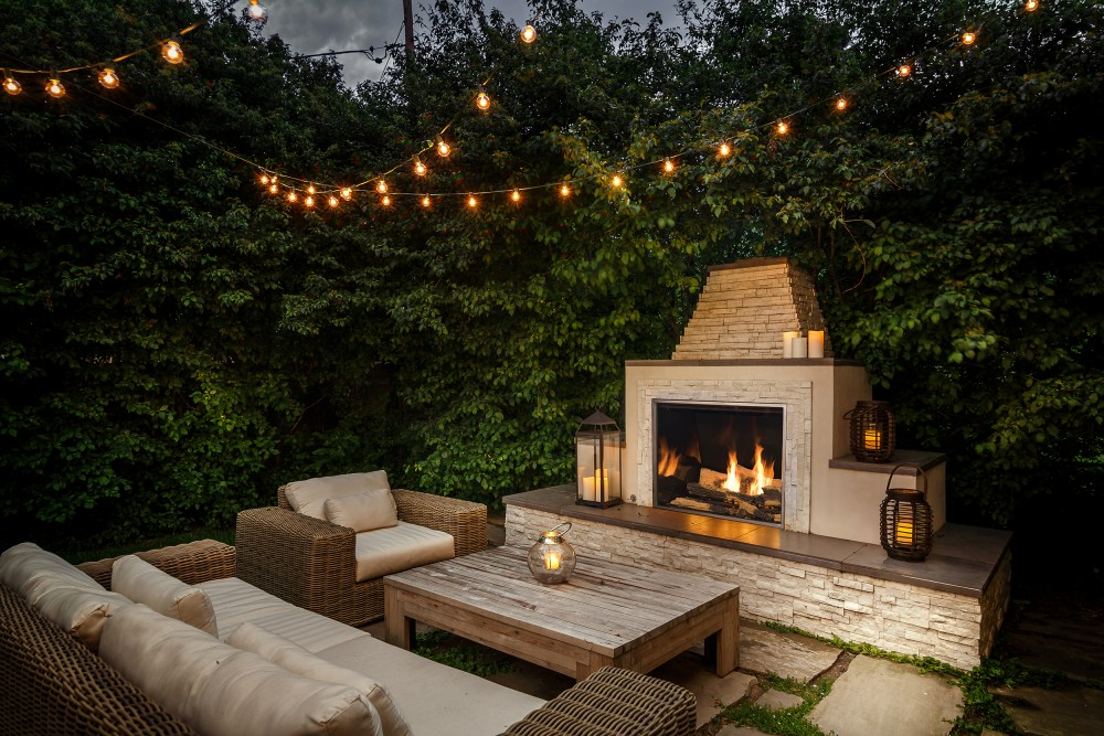 outdoor fireplace  13