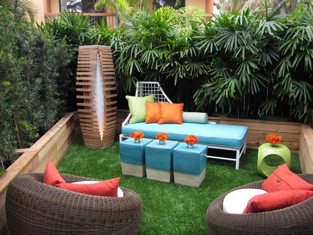 Enjoy nature with outdoor garden decor