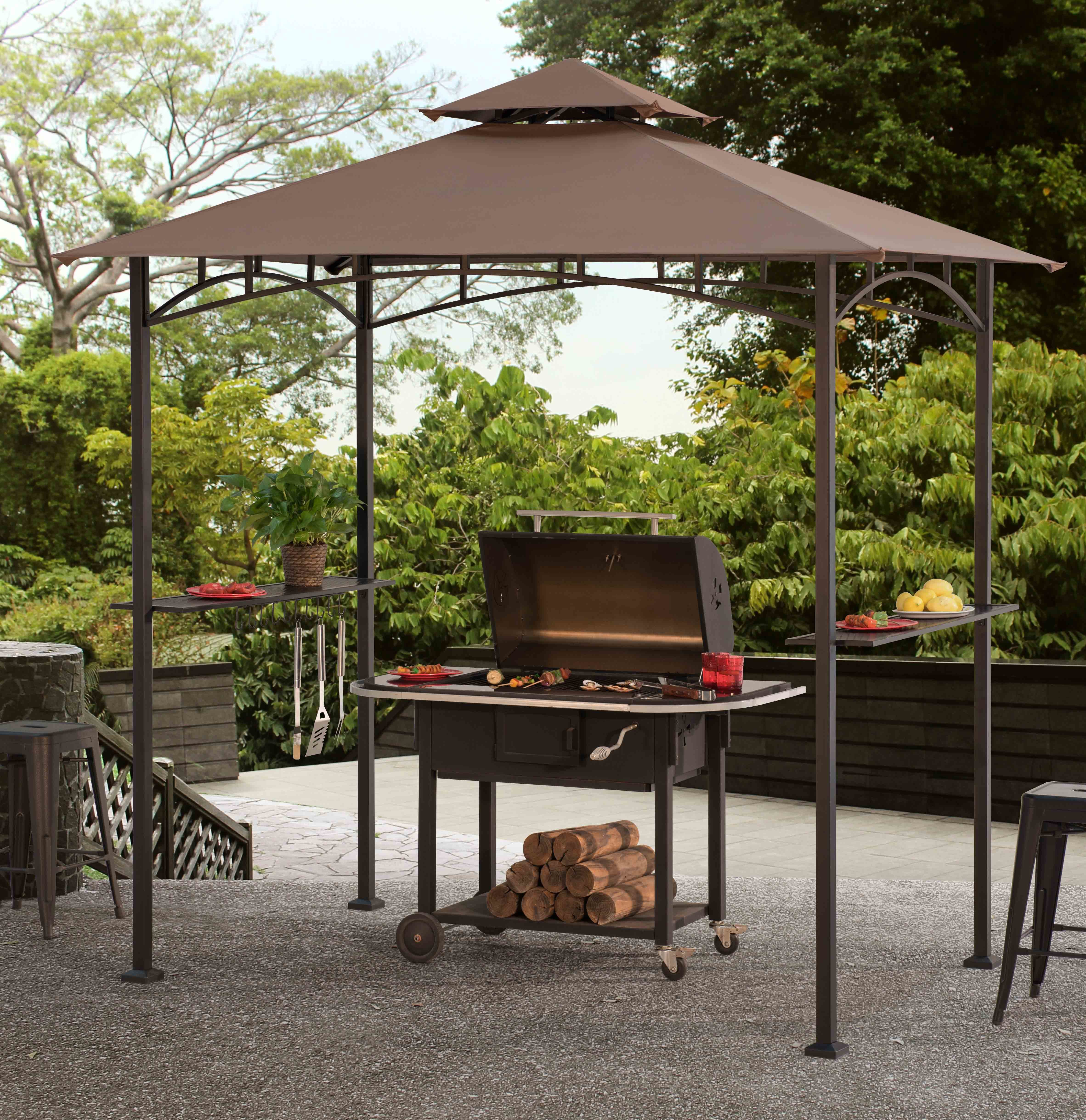 outdoor grill gazebo  21