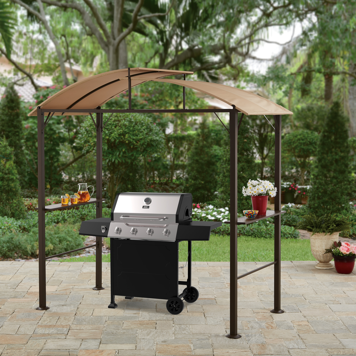 outdoor grill gazebo  31