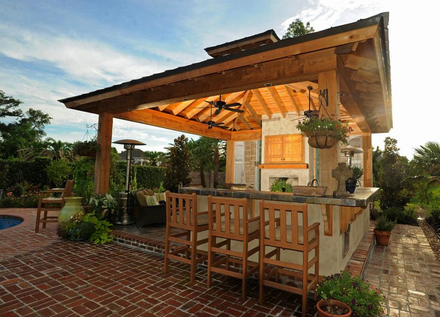 Outdoor kitchen designs  39