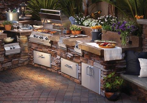 Outdoor kitchen designs  70