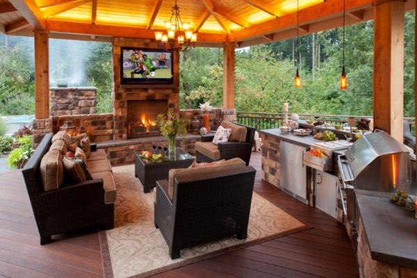 Outdoor kitchen designs  82