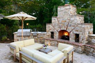 Outdoor kitchen designs  86