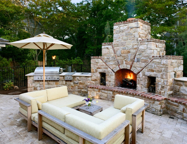 Make your kitchen elegant with beautiful Outdoor kitchen designs