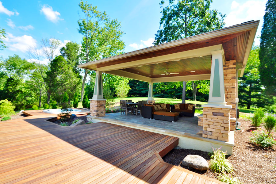 Make your outdoor living spaces beautiful and elegant