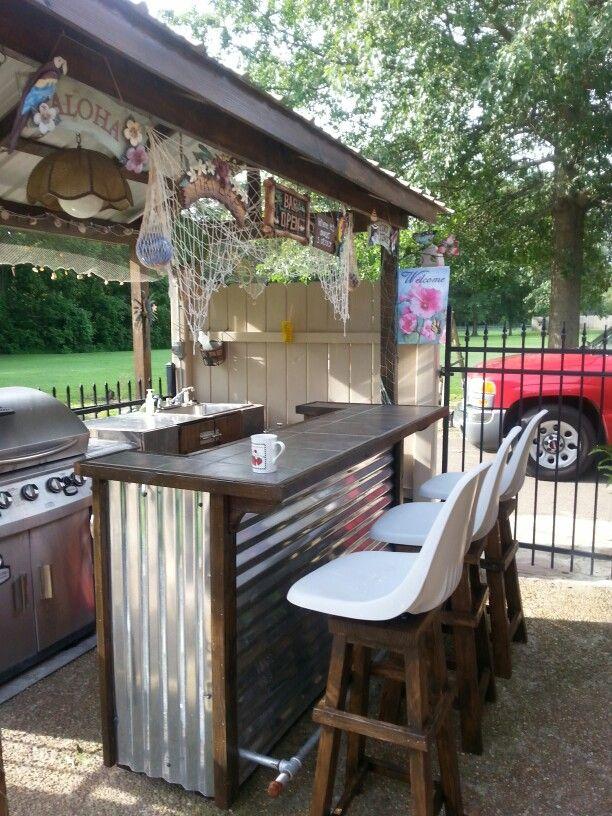 outdoor patio bar  20