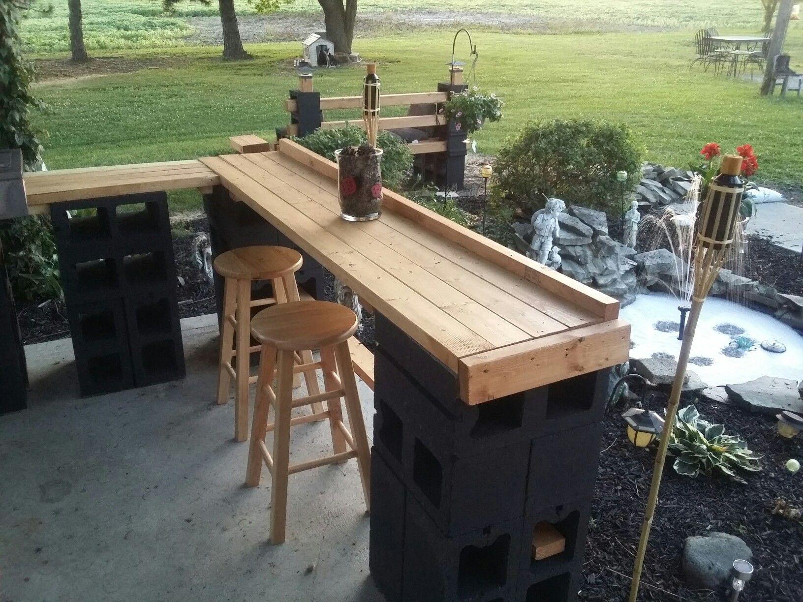 outdoor patio bar  21