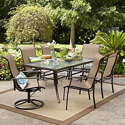 outdoor patio set  60