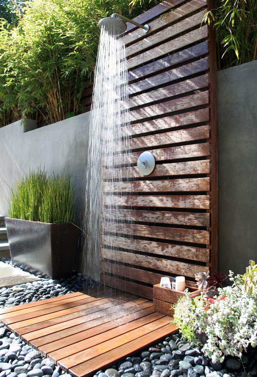 outdoor shower  58