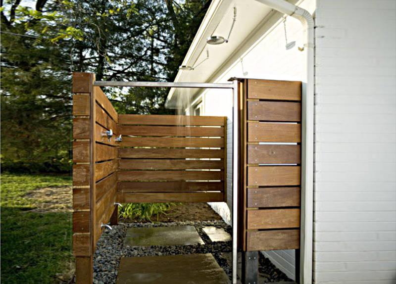 outdoor shower  72