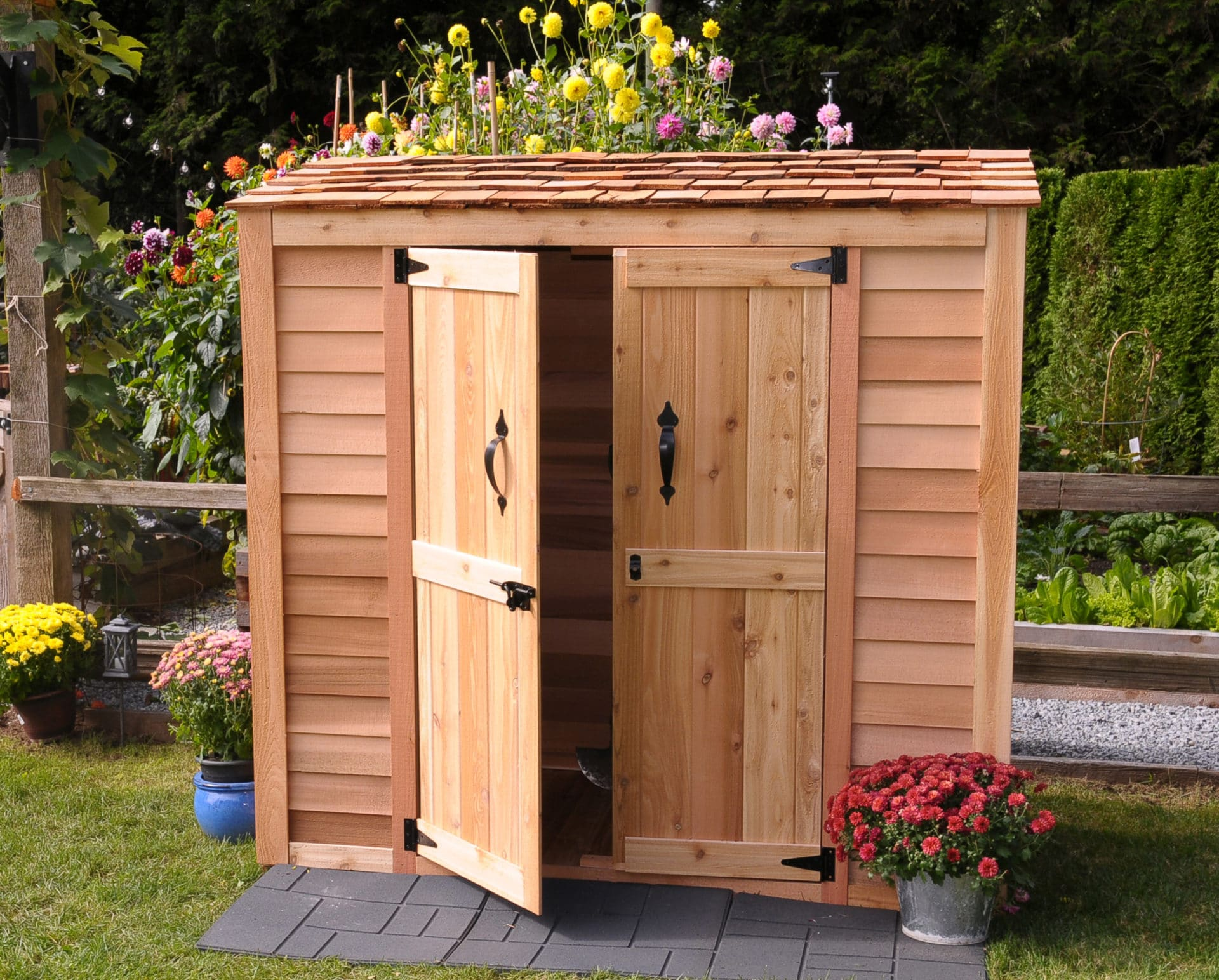 Outdoor Storage Shed  75