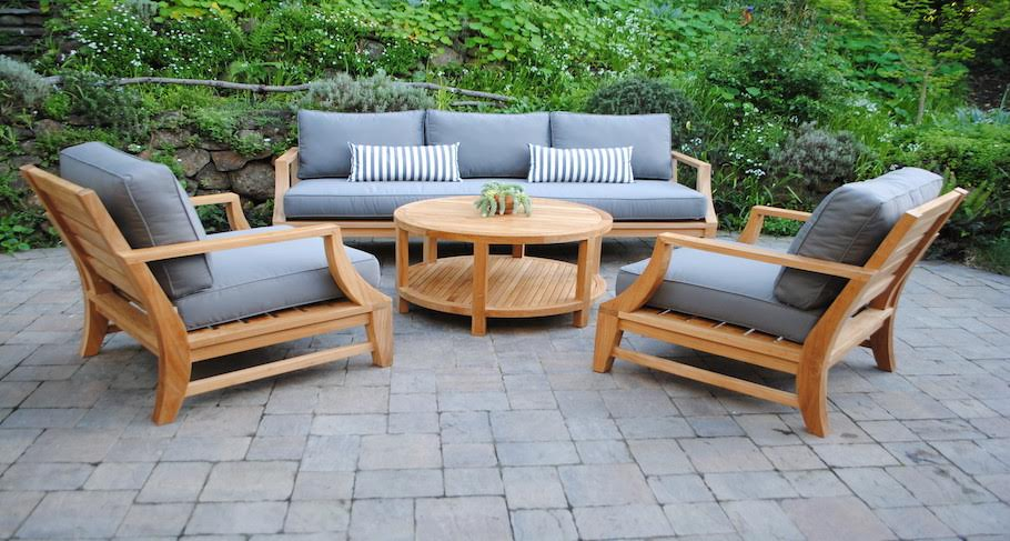 Illuminating Outdoor Teak Furniture Ideas