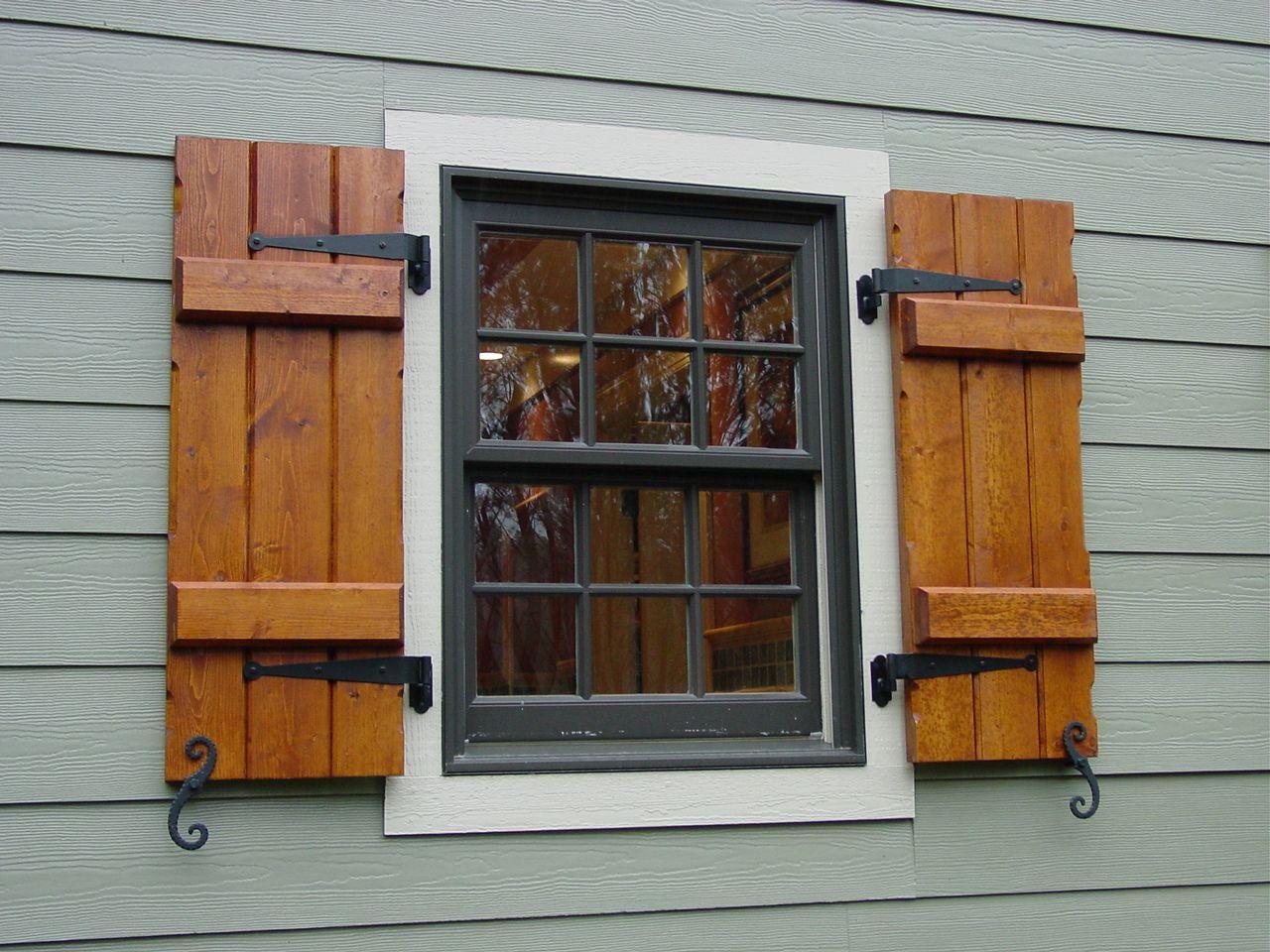 outdoor window shutters  38