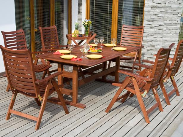 outdoor wood furniture 23