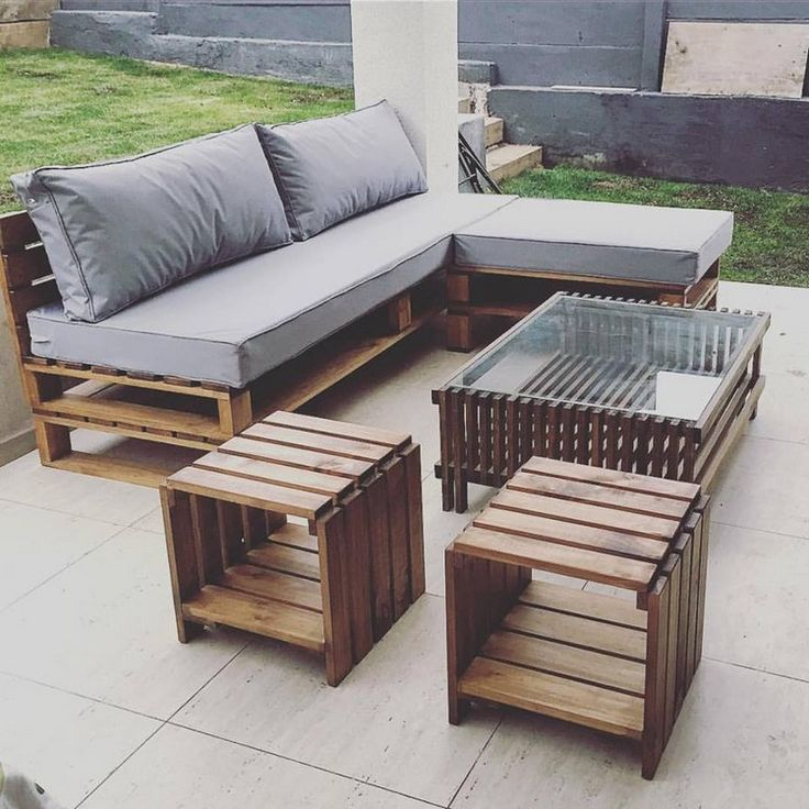 outdoor wood furniture  26