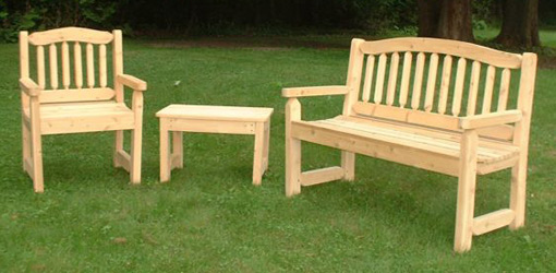 outdoor wood furniture 59