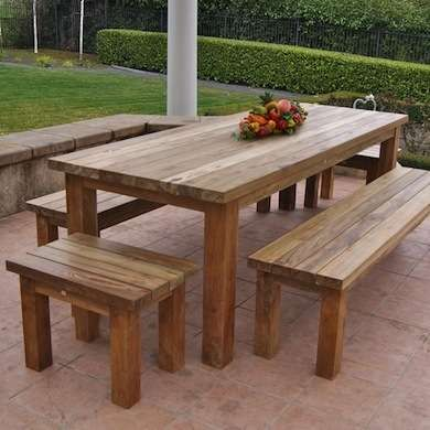 outdoor wood furniture 62