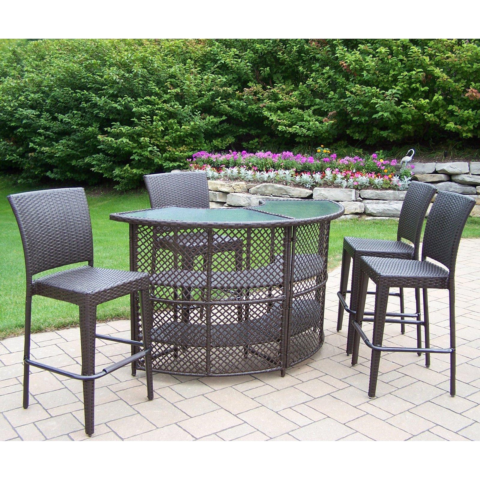 patio bar set  80