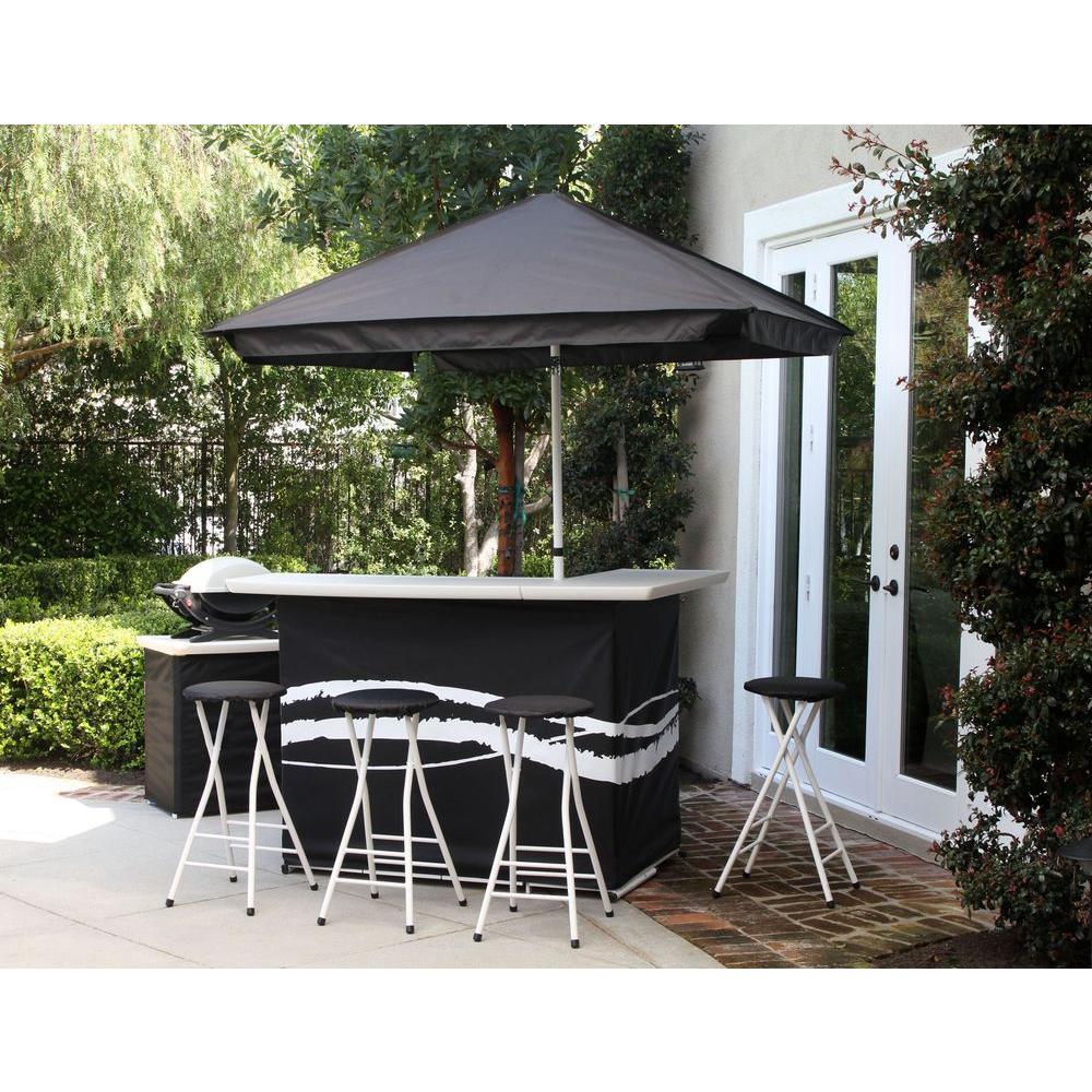 patio bar set  84