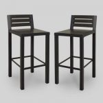 Find different materials for patio bar stools