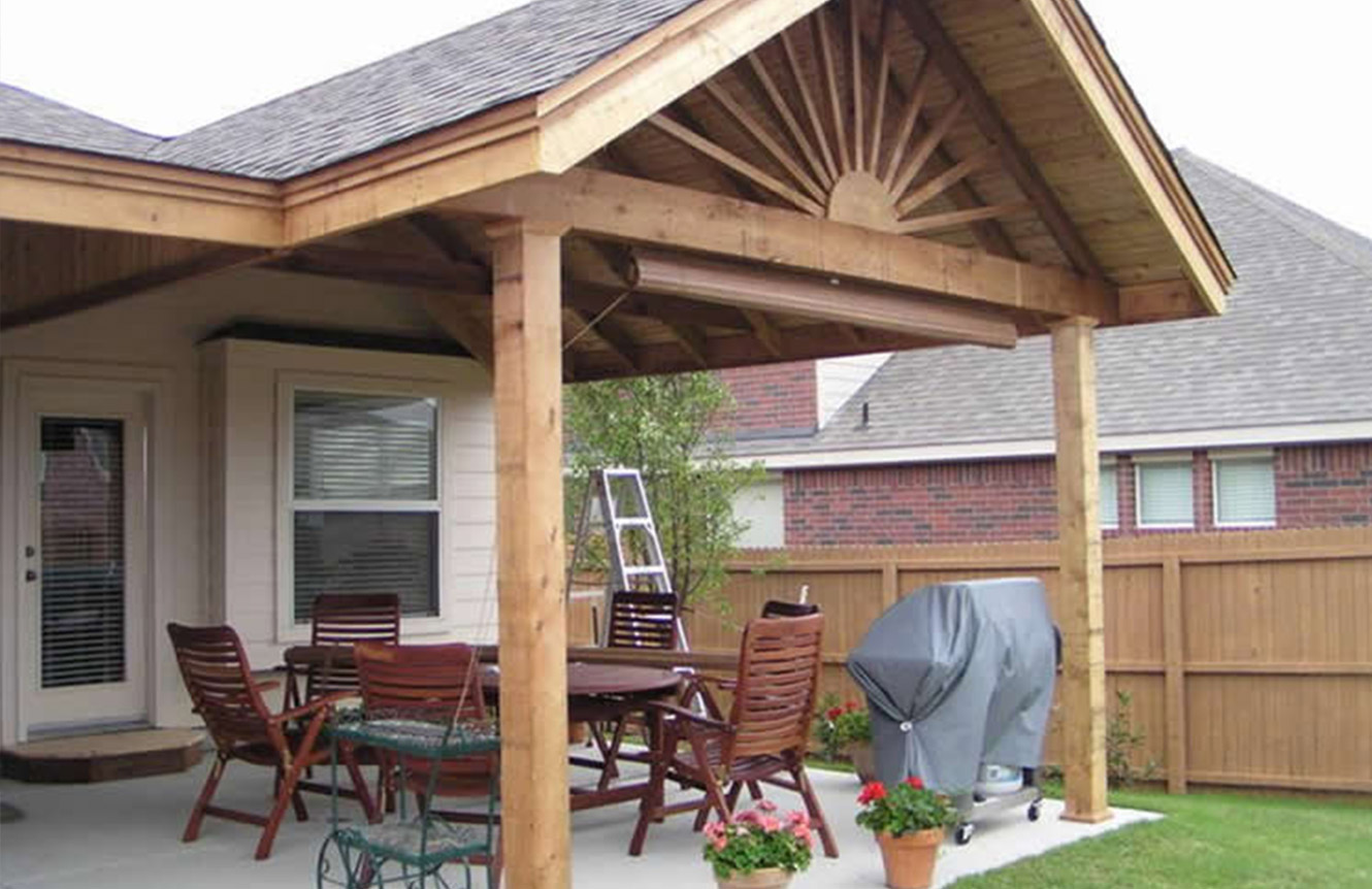 Create an appealing ambiance of your patio with patio covers