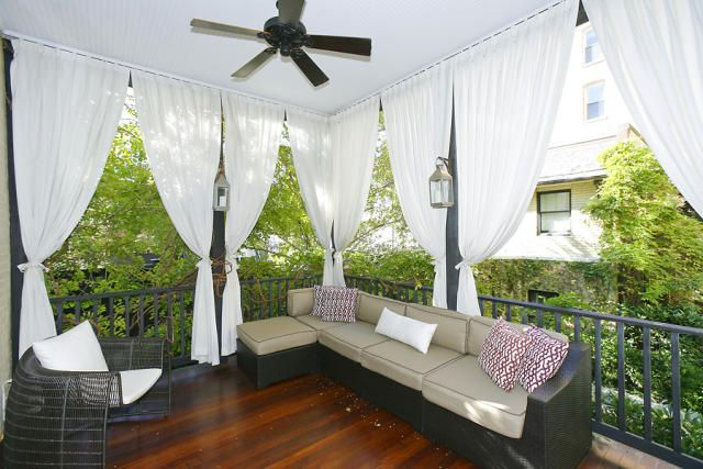 Patio curtains – For beautiful patio