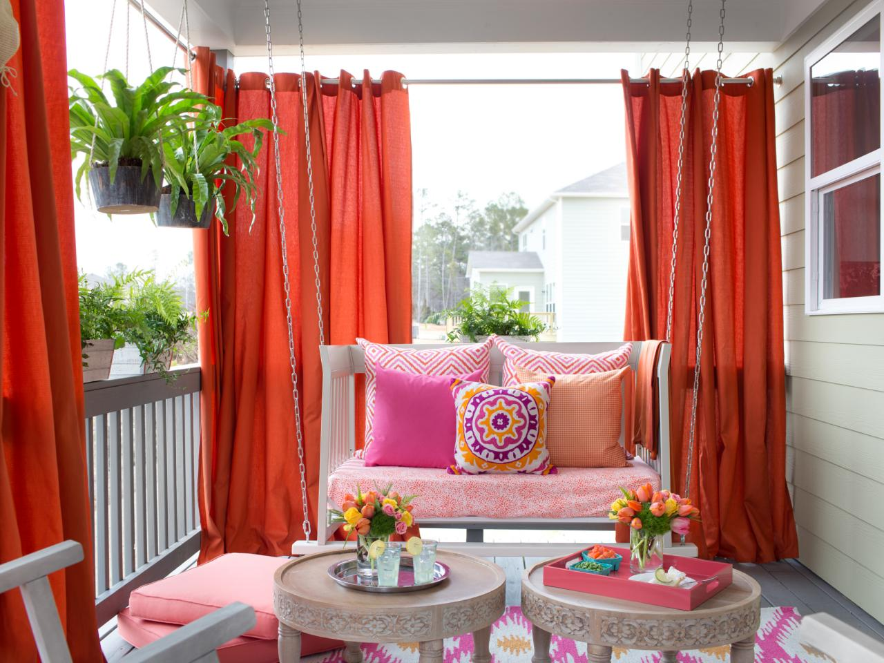 Patio curtains  84