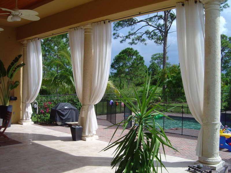 Patio curtains  85