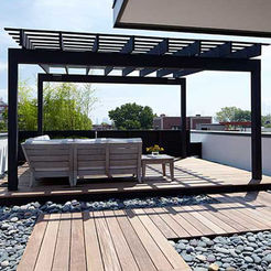 Give your place luxuries look by stylish patio design